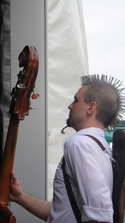 Rockin the hair!