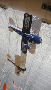 Suspended Airplane at Udvar-Hazy Center